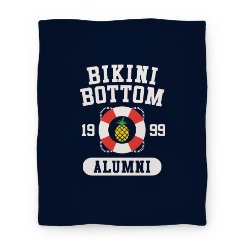 Bikini Bottom Alumni Blanket