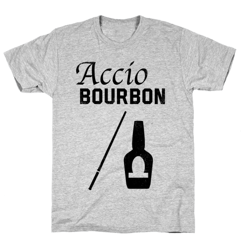 Accio BOURBON Mens T-Shirt