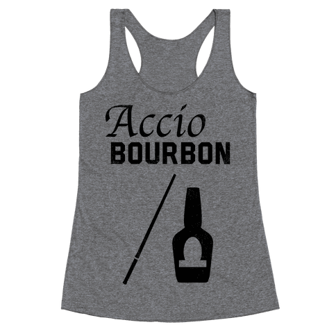 Accio BOURBON Racerback Tank Top