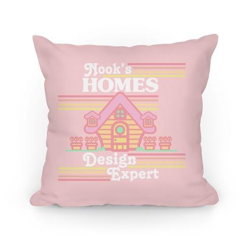 Nook's Homes Design Expert Pillow