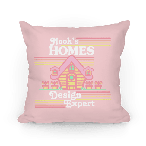 Nook's Homes Design Expert Pillow