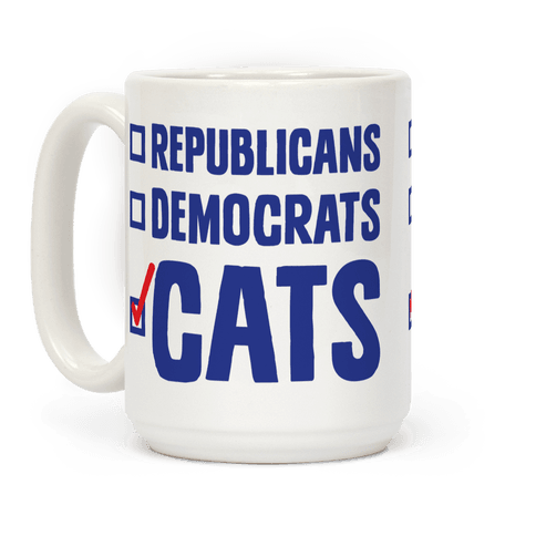 Republicans Democrats Cats