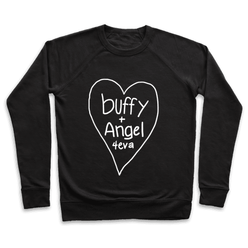 Buffy + Angel 4eva Pullover