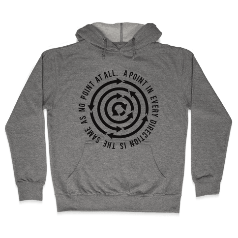 A Point in Every Direction Hooded Sweatshirt