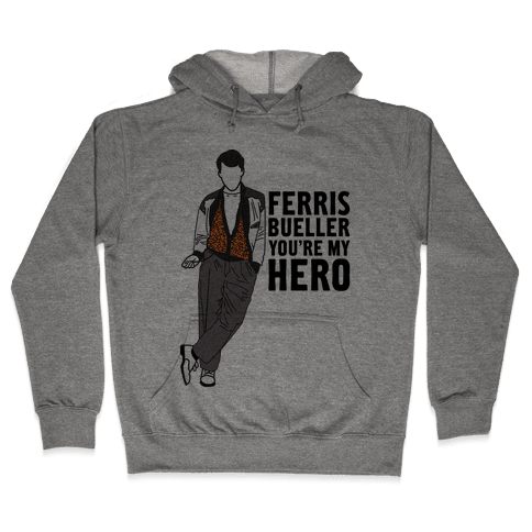 You're My Hero Hooded Sweatshirt