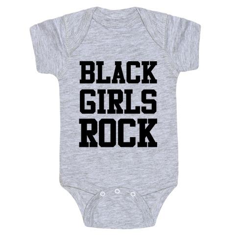 Black Girls Rock Baby Onesy