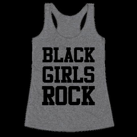 Black Girls Rock Racerback Tank Top