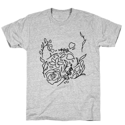 Floral Teapot T-Shirt