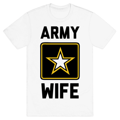 Army Wife Mens T-Shirt