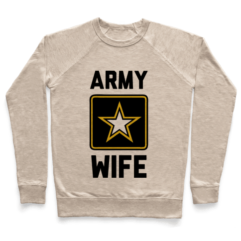 Army Wife Pullover
