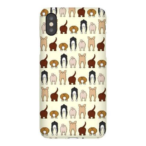 Dog Butt Pattern Phone Case
