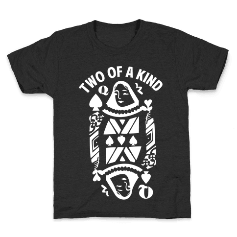 Two of a Kind Spade Kids T-Shirt