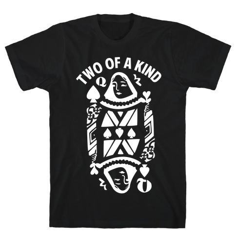 Two of a Kind Spade T-Shirt