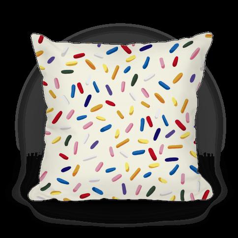 Sprinkle Pillow (Vanilla)