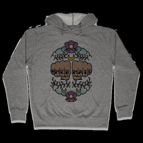 Mermaid Knuckles Hooded Sweatshirt
