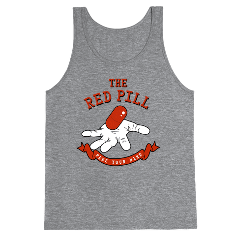 The Red Pill Tank Top