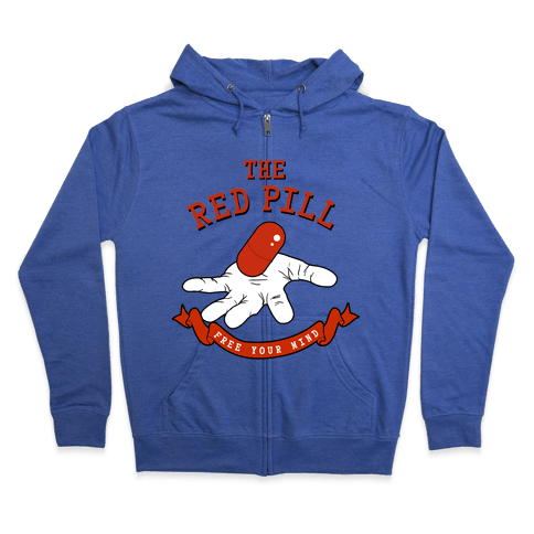 The Red Pill Zip Hoodie