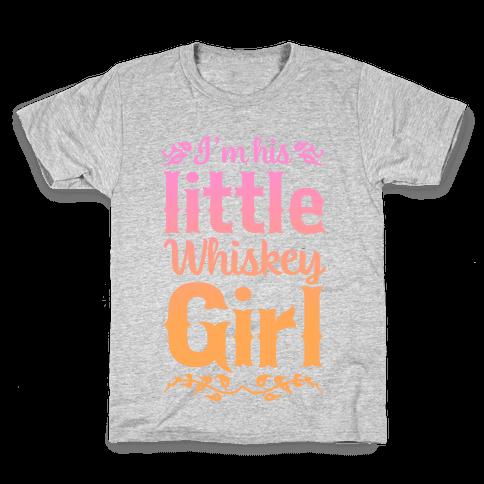 Little Whiskey Girl Kids T-Shirt
