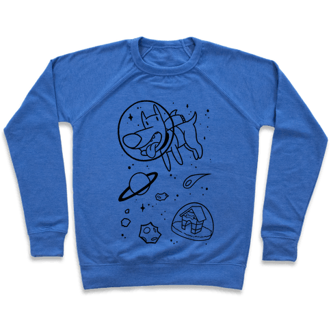 Blast Off Space Dog Pullover