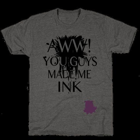 Aww! You Guys Made Me Ink!