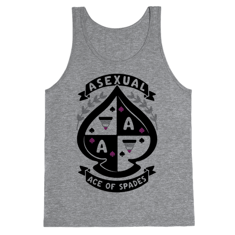 Asexual Crest Tank Top