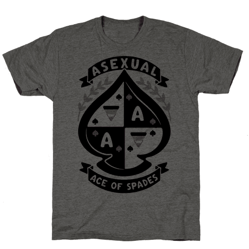 Asexual Crest Mens T-Shirt