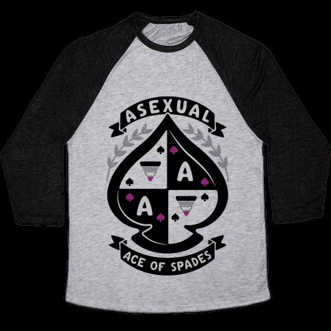 Asexual Crest Baseball Tee