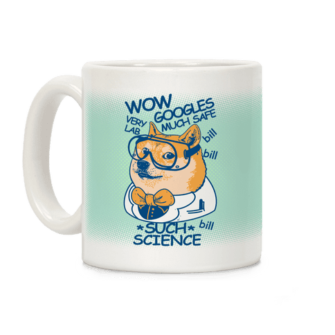 Science Doge Coffee Mug