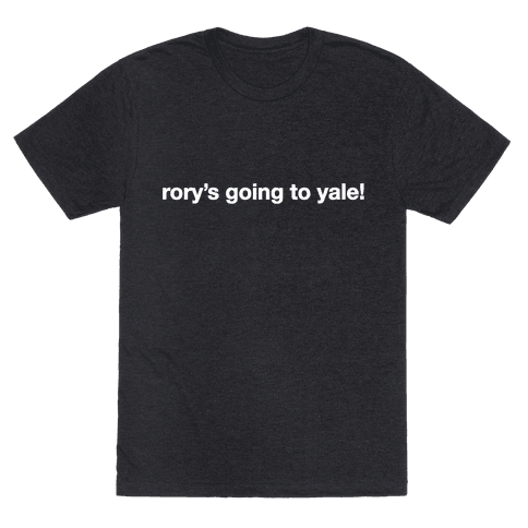 Rory's Going To Yale!