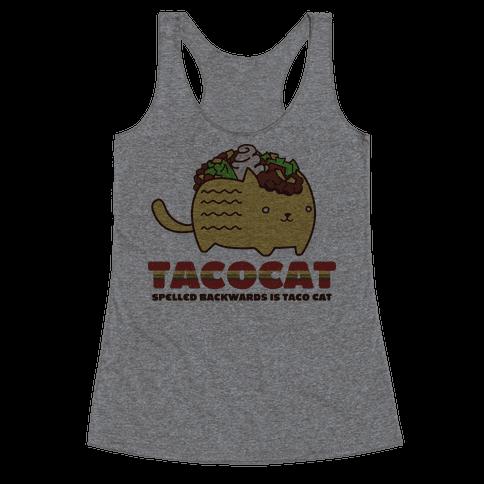 Tacocat Racerback Tank Top