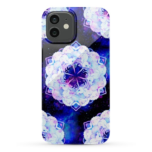 Unicorn Space Ring Phone Case