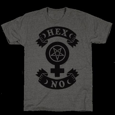 Hex No Mens T-Shirt