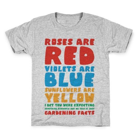 Gardening Facts Kids T-Shirt