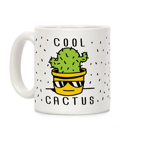 Cool Cactus Coffee Mug