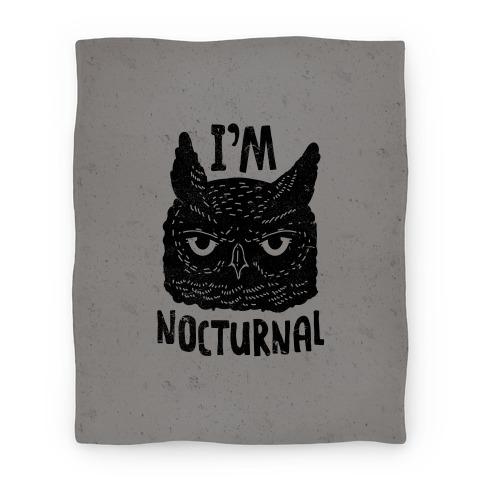 I'm Nocturnal Blanket