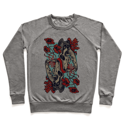 Sleep And The Coyote Pullover