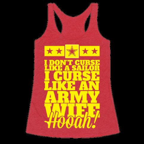 I Don't Curse Like A Sailor I Curse Like An Army Wife