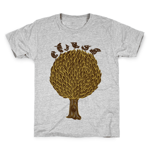 Birds on a Tree Kids T-Shirt