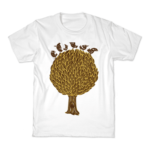 Birds on a Tree Kids T-Shirt