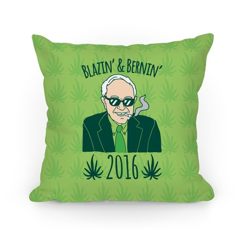 Blazin' And Bernin' 2016 Pillow