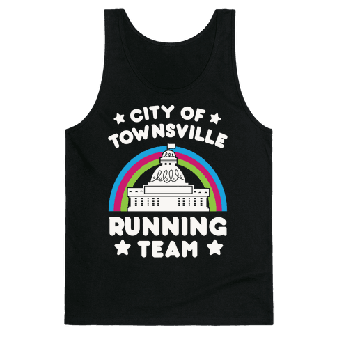 City Of Townsville Running Team Tank Top