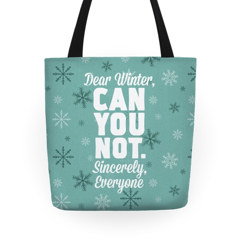 Dear Winter Tote
