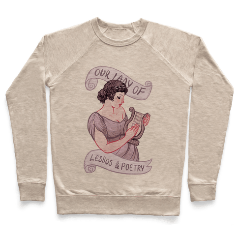 Sappho: Our Lady of Lesbos & Poetry Pullover
