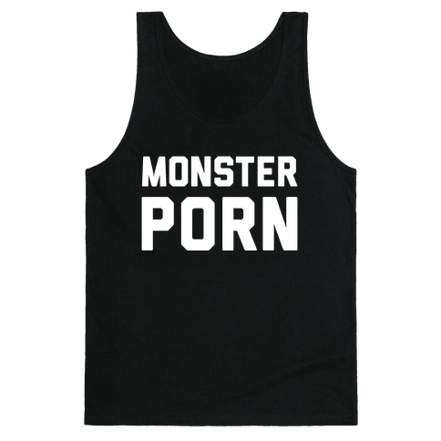 Monster Porn Tank Top