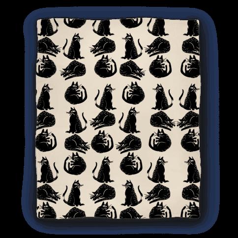 Cat Shapes Blanket