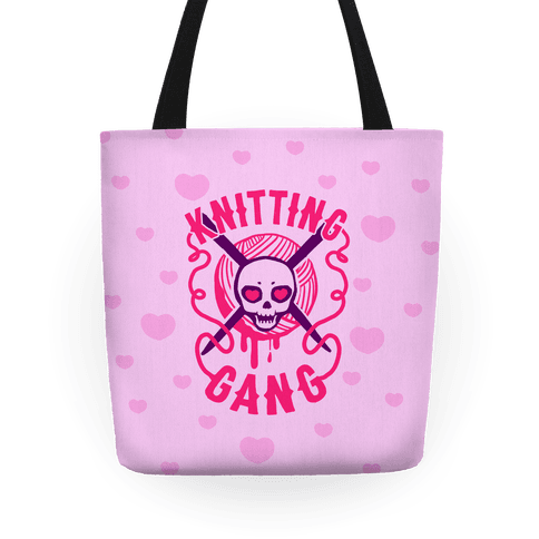 Knitting Gang Tote
