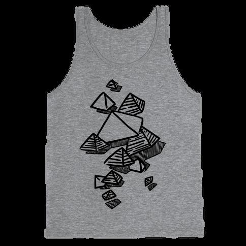 Geometric Pyramids Tank Top