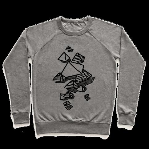 Geometric Pyramids Pullover