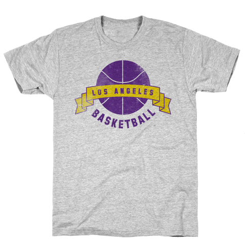 City of Lost Angels Basketball Mens T-Shirt