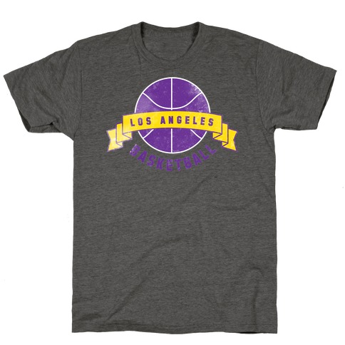 City of Lost Angels Basketball T-Shirt